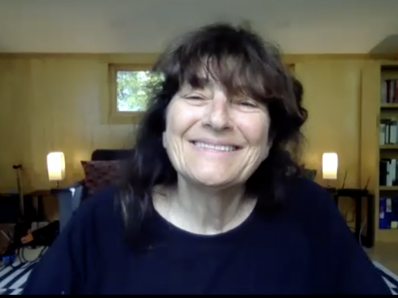 Ruth Reichl and The Sanctuary Cover Picture