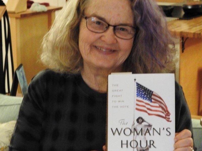 Barbara White advocates for Elaine Weiss Cover Picture