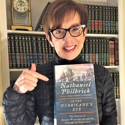 Chris Vineis Advocates for Nathaniel Philbrick Picture